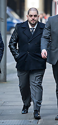 © London News Pictures. 18/02/2013 . London, UK.  Derek Rose (32) arriving at Southwark Crown Court on February 18, 2013 where he is accused of blackmailing Tamara Ecclestone, the daughter of Formula 1 Supremo, Bernie Ecclestone. Photo credit : Ben Cawthra/LNP