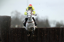 Politologue ridden by Sam Twiston-Davies wins the Unibet Desert Orchid Chase during day two of the 32Red Winter Festival at Kempton Park, Sunbury on Thames.
