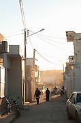 Street scene, El Djem, Tunisia