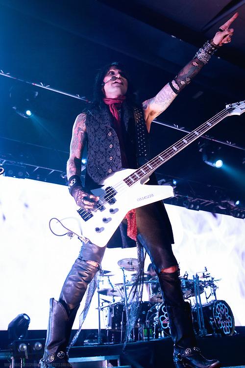 Black Veil Brides perform live on their Resurrection Tour at Manchester Academy, Manchester, United Kingdom, 2018-01-24