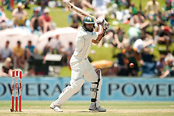 South Africa's Hashim Amla bats during the First Test at the SuperSport Park, Centurion, South Africa.