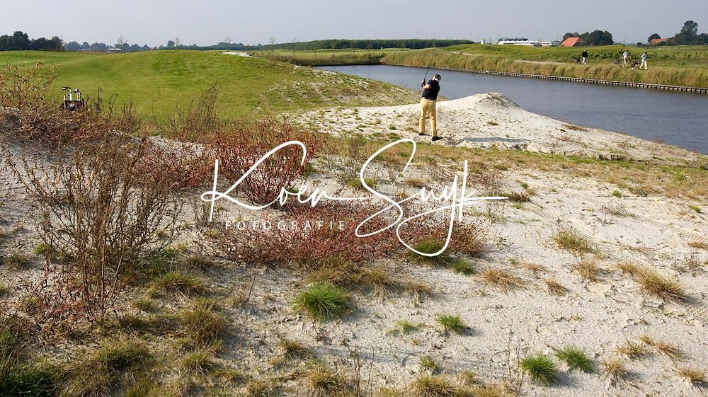 VEENDAM - Golfbaan van Golfclub de Compagnie in Veendam. COPYRIGHT KOEN SUYK