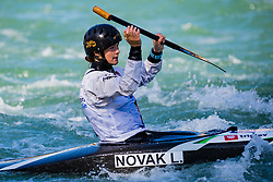Ajda NOVAK (SLO) during Canoe Finals at World Cup Tacen, 18 October 2020, Tacen, Ljubljana Slovenia. Photo by Grega Valancic / Sportida