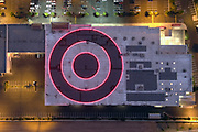 A general view of solar panels on the roof of a Target store, Thursday, Oct. 8, 2020, in Inglewood, Calif.