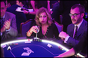 KARINE SOLLOWAY, Quintessentially Foundation Poker Night,  annual poker night,  to raise money for Right to play, Greenhouse and Place2Be. Savoy. 13 November 2014.