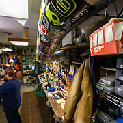 The interior and maintence area of Wilson Backcountry Sports owned by Andy Olpin in Wilson, Wyoming.