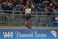 Alamz AYANA ETH 5000m Women Winner<br /> Roma 03-06-2016 Stadio Olimpico <br /> IAAF Diamond League Golden Gala <br /> Atletica Leggera<br /> Foto Andrea Staccioli / Insidefoto