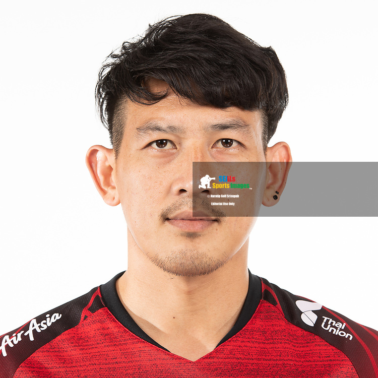 THAILAND - MARCH 05: Kirati Keawsombut #81 of Police Tero FC on March 05, 2019.<br /> .<br /> .<br /> .<br /> (Photo by: Naratip Golf Srisupab/SEALs Sports Images/MB Media Solutions)