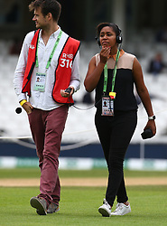 September 11, 2018 - London, Greater London, United Kingdom - Ebony Rainford-Brent .during International Specsavers Test Series 5th Test match Day Five  between England and India at Kia Oval  Ground, London, England on 11 Sept 2018. (Credit Image: © Action Foto Sport/NurPhoto/ZUMA Press)