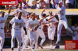 Oakland A's winning streak, Sports Illustrated, 2002