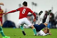 Fotball<br /> UEFA European Championship Play off<br /> Ungarn v Norge / Hungary v Norway<br /> 15.11.2015<br /> Foto: Anders Hoven/Digitalsport<br /> <br /> Martin Ødegaard<br /> Adam Nagy