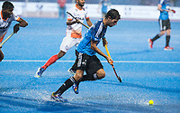 BHUBANESWAR -  Hockey World League finals , Semi Final . Argentina v India. Diego Paz (Arg).   COPYRIGHT KOEN SUYK