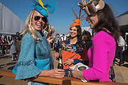 RACHEL HAWKINS; LUCY RALPH; JENNIFER TOWNSEND, Cheltenham races,  Ladies Day, Wednesday 15 March 2017