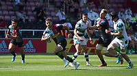 Rugby Union -2020/2021 Gallagher Premiership - Round 22 -<br />Harlequins vs Newcastle Falcons - The Stoop<br /><br />Danny Care on his way to putting down a try