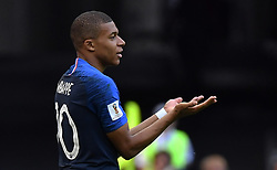 France's Kylian Mbappe during the FIFA World Cup France v Argentina at the Kazan Arena stadium in Kazan, Russia on June 30, 2018. France defeated Argentina 4-3 and move into the quarter-finals. Photo by Christian Liewig/ABACAPRESS.COM