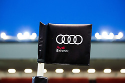 Bristol Audi corner flags - Rogan/JMP - 19/01/2018 - RUGBY UNION - Ashton Gate Stadium - Bristol, England - Bristol Rugby v Cardiff Blues Select - B&I Cup.