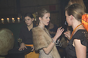 Blondine Lucas , 130 Years Of Veuve Clicquot Yellow, The Wapping Project, Wapping Wall, London, E1,13 November 2007. -DO NOT ARCHIVE-© Copyright Photograph by Dafydd Jones. 248 Clapham Rd. London SW9 0PZ. Tel 0207 820 0771. www.dafjones.com.