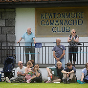 Highland Games, 3rd of August 2019, Newtonmore, Scotland, United Kingdom. The Highland Games is a traditional annual event where competitors compete as strong men, runners, dancers, pipers and at tug-of-war. The games go back centuries and are happening through-out the summer across Scotland. The games are both an important event locally and a global tourist attraction.