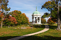 The Maryland Memorial, Antietam National Battlefield, Sharpsburg, Maryland, USA.