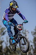 #100 (MAHIEU Romain) FRA at round 8 of the 2018 UCI BMX Supercross World Cup in Santiago del Estero, Argentina.