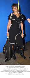 Artist TRACY EMIN at a party in London on 10th September 2003.PMH 103
