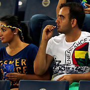 Fenerbahce's supporters during their Turkish superleague soccer derby Fenerbahce between Eskisehirspor at the Sukru Saracaoglu stadium in Istanbul Turkey on Friday 14 August 2015. Photo by Aykut AKICI/TURKPIX