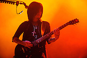 Photos of the Japanese band Dir en grey on tour with Apocalyptica, performing at the Pageant in St. Louis on August 31, 2010.