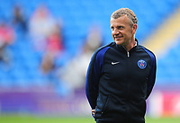 Paris Saint-Germain's manager Patrice Lair<br /> <br /> Photographer Kevin Barnes/CameraSport<br /> <br /> UEFA Women's Champions League Final - Pre match training session - Lyon Women v Paris Saint-Germain Women - Wednesday 31st May 2017 - Cardiff City Stadium<br />  <br /> World Copyright © 2017 CameraSport. All rights reserved. 43 Linden Ave. Countesthorpe. Leicester. England. LE8 5PG - Tel: +44 (0) 116 277 4147 - admin@camerasport.com - www.camerasport.com