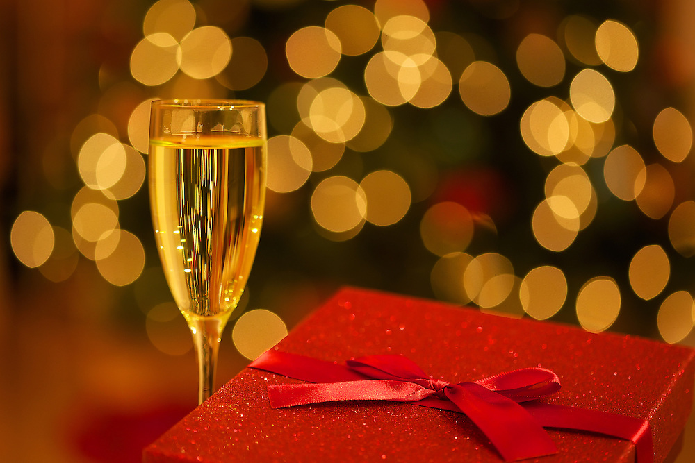 Cheers and holiday warmth with a gift of the Christmas season!