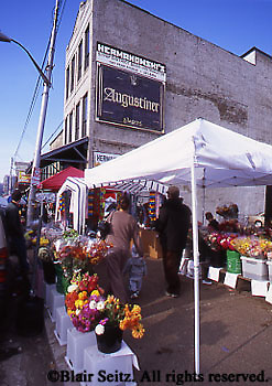 The Strip Historic District, Pittsburgh, PA, Flower Market