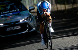 CAMPENAERTS Victor of Belgium competes during Men Time Trial at UCI Road World Championship 2020, on September 24, 2020 in Imola, Italy. Photo by Vid Ponikvar / Sportida