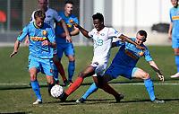 Fotball , 1. februar 2017 , Privatkamp<br /> Nordsjælland - Vålerenga<br /> <br /> Stanislav Lobotka , SNS<br /> Tobias Mikkelsen , NS<br /> Ernes Agyiri , VIF