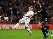 Fara Williams of England Women<br /> - Womens International Football - England vs Germany - Wembley Stadium - London, England - 23rdNovember 2014  - Picture Robin Parker/Sportimage