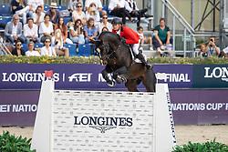 Guery Jerome, BEL, Quel Homme De Hus<br /> Longines FEI Jumping Nations Cup Final<br /> Barcelona 2021<br /> © Dirk Caremans<br />  03/10/2021