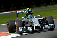 ROSBERG Nico (Ger) Mercedes Gp Mgp W05 action  during the 2014 Formula One World Championship, Italy Grand Prix from September 5th to 7th 2014 in Monza, Italy. Photo Eric Vargiolu / DPPI