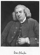 Samuel Johnson (1709-1784)  English author and lexicographer.