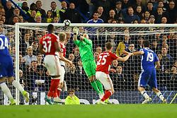 Brad Guzan of Middlesbrough saves another shot from Chelsea - Mandatory by-line: Jason Brown/JMP - 08/05/17 - FOOTBALL - Stamford Bridge - London, England - Chelsea v Middlesbrough - Premier League