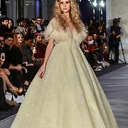 Najwa Alfadli showcases it latest collection at Stories From Arabia Fashion Show AW19