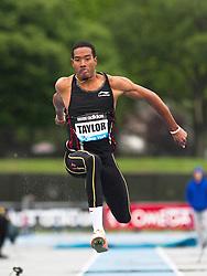 adidas Grand Prix Diamond League professional track & field meet: mens triple jump, Christian Taylor, USA