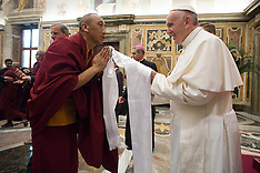 Vatican: Pope Francis Attends An Interreligious Audience, 3 Nov. 2016