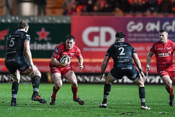Scarlets' Ryan Elias in action during todays match - Mandatory by-line: Craig Thomas/Replay images - 26/12/2017 - RUGBY - Parc y Scarlets - Llanelli, Wales - Scarlets v Ospreys - Guinness Pro 14