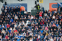 South stand. Falkirk 0 v 2 Rangers, Scottish Championship game played 15/8/2014 at The Falkirk Stadium.