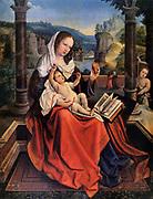 Bernard van Orley,(Barend van Orley) Flemish, Belgian painter (1490-1541). @ Mary and Child' (Jesus and Mary)