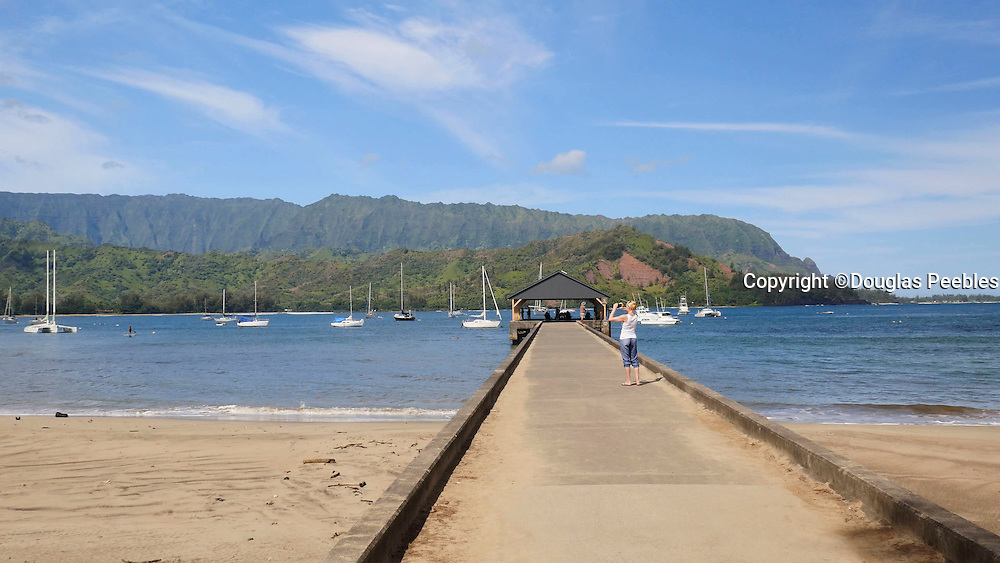Pan, Hanalei Pier, Hanalei Beach, Kauai, Hawaii