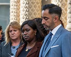Family of Sheku Bayoh meet Lord Advocate, Edinburgh, 3 October 2018
