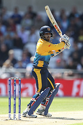 June 21, 2019 - Leeds, Yorkshire, United Kingdom - Kusal Mendis of Sri Lanka during the ICC Cricket World Cup 2019 match between England and Sri Lanka at Headingley Carnegie Stadium, Leeds on Friday 21st June 2019. (Credit Image: © Mi News/NurPhoto via ZUMA Press)