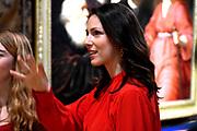 Prinses Viktoria de Bourbon de Parme , de echtgenote van prins Jaime bij de opening van de tentoonstelling Hollandse meesters uit Boedapest in het Frans Hals Museum.<br /> <br /> Princess Viktoria de Bourbon de Parme, the wife of Prince Jaime at the opening of the exhibition Dutch masters of Budapest in the Frans Hals Museum.<br /> <br /> Op de foto / On the photo:  Prinses Viktoria de Bourbon de Parme en directeur Ann Demeester