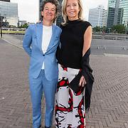 NLD/Amsterdam/20190525 - AmsterdamDiner 2019,Kajsa Ollongren en partner  Irene van den Brekel