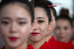 16.04.2016, International Circuit, Shanghai, CHN, FIA, Formel 1, Grand Prix von China, Qualifying, im Bild Grid Girls // during Qualifying for the FIA Formula One Grand Prix of China at the International Circuit in Shanghai, China on 2016/04/16. EXPA Pictures © 2016, PhotoCredit: EXPA/ Sutton Images/ Goria<br /> <br /> *****ATTENTION - for AUT, SLO, CRO, SRB, BIH, MAZ only*****