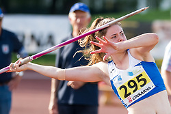 Nina Rman competes during day 1 of Slovenian Athletics Cup 2019, on June 15, 2019 in Celje, Slovenia. Photo by Peter Kastelic / Sportida